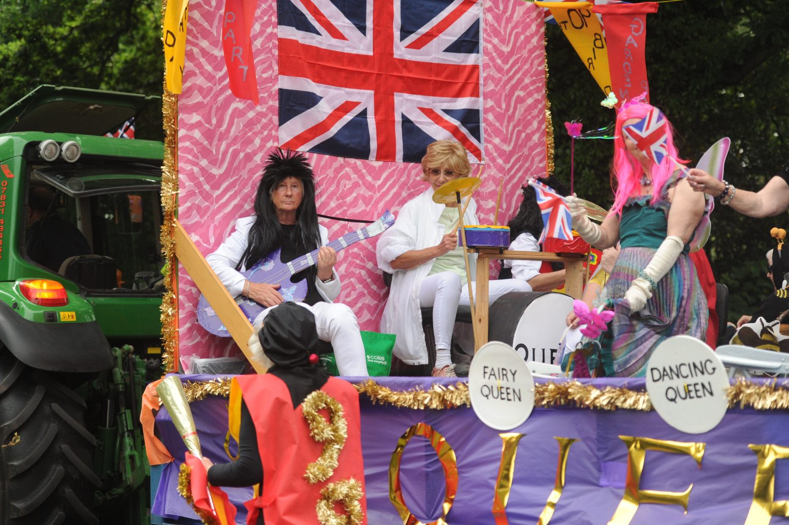 its Queen at the Copythorne Carnival