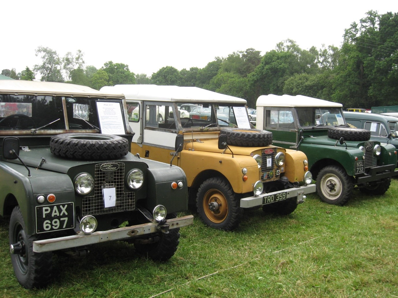 Classic Landrovers